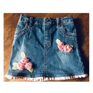 👛 Children's Place 3T Denim Skirt w/Spankies